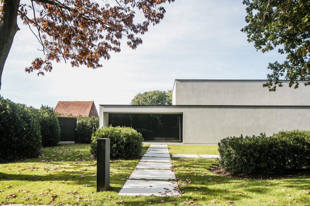 CAS architecten by ABS Bouwteam Lovendegem zijgevel